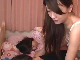 Japanese Teenage Honey Kashii Ria Gargles And Rails A Hard Fuckpole