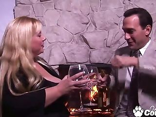 Blonde Bbw Taylor Hilton Gets Banged By Big Dick