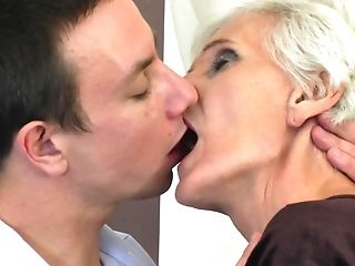 Granny Myra Blows The Best And Loves Fucking More Than Anything