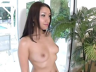 Petite Asian Stunner Gets A Sexy Rubdown For Her Bday