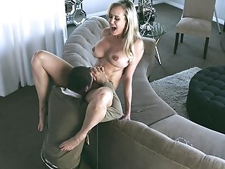Brandi Love Seduced By A Hadsome Paramour For A Fine Fuck