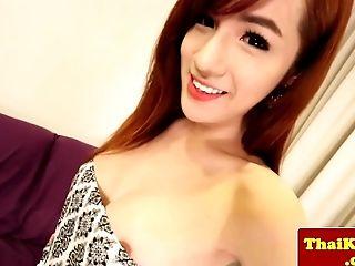 Big-chested Fledgling Transgender Princess Posing Naked Closeup