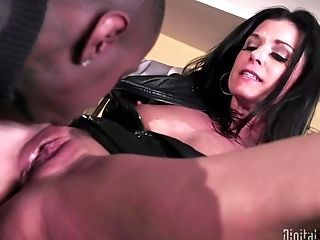 Wondrous Black Dude And One More Dude Fuck Adorable India Summer Together