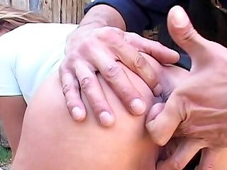 Matures Rails Penis In The Back And Gulps Warm Jizz