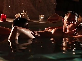 Sultry Fucking In The Pool With Faux Orbs Wifey Sienna Day