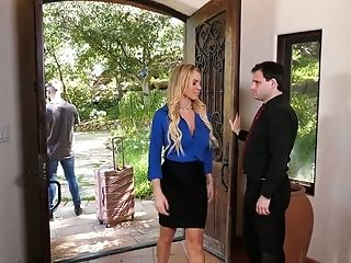 Whore Wifey Kenzie Taylor Rails A Big Dick In Front Of Her Bore Spouse