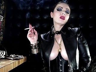 Lesdom At The Smoker Bar Anouschka Femme Fatale Clips4sale - 139051