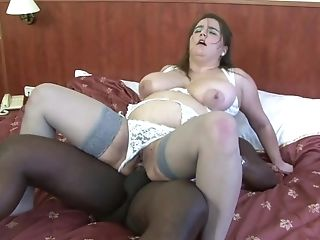 Chubby Matures Woman Attempts A Black Dick In The Butt