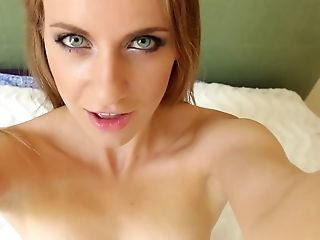 Selfie Getting Off Vid With The Most Beautiful Blue Eyed Doll