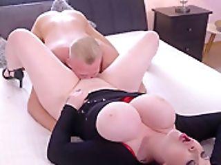 Christian Deam & Harmony Reigns In Big Chesty Brit Mom Has Toyboy - Momxxx