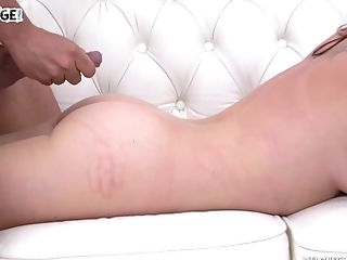 Sweet Honey Wendy Moon Gets Spoke Into Fucking On The Couch