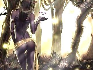 Female Elf Animation Test