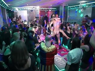There Is Nothing Finer For Those People Than Group Fuck-a-thon In The Club