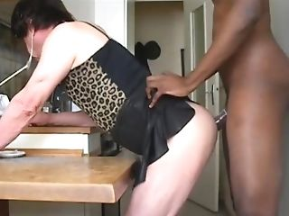 Fucked In The Kitchen...