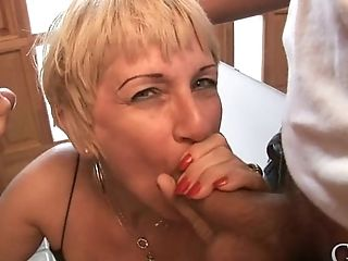 Blonde Marta Is A Horny Grandmother Who Likes Engorged Dicks