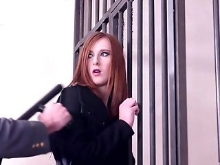 Whorish Bitches Billie Starlet And Linda Sweet Share A Cop's Geyser In Jail