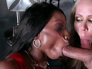 Diamond Jackson Is Eventually Out Of Her Boring Marriage And Ready For Some Fresh Man Meat.