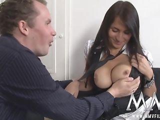 Old Fart Loves Her Big Bosoms - Hot Teenager Orgy