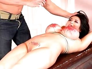 Chubby Asian Compelled Fucked And Ferociously Stimulated