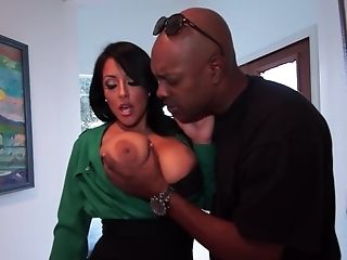 Lucky Black Dude Fucks Kiara Mia And Her Friend Together
