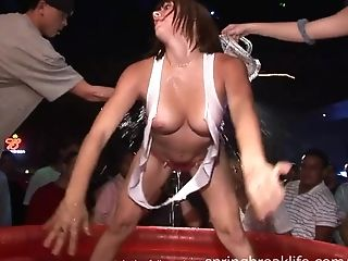 Nymphs Night Out - Hot Public Bareness