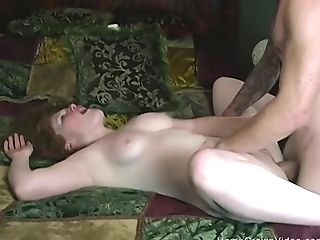 Nice Inexperienced Ginger-haired Ginger Gf Loves Having Her Fuck Fuckhole Pounded Hard!
