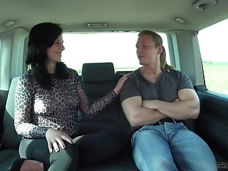 Hitchhiker Cloe Likes Car Fucking And Outdoor Shag