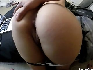 Sunday Morning Quickie With Big Booty Sis