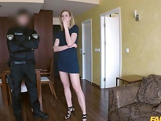 Steffany Gets Her Fuckbox Pounded Before An Memorable Orgasm With A Cop