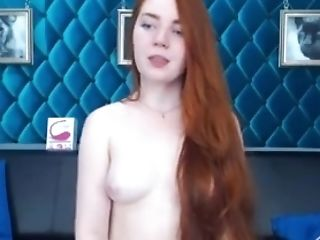 Russian Red-haired Loves The Lovense And Has Excellent Orgasm