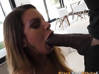 Skank Buttfucked By Big Black Woo