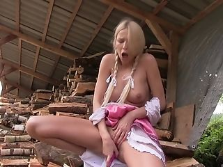 Stunning Nude Scenes For The Youthful Blonde
