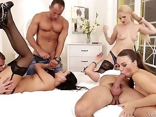 Swingers Orgies - Horny Bitches Group Intercourse Soiree