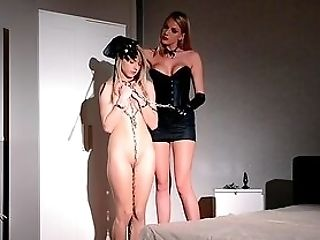 Master Cougar Plays With Her Teenage Daughter-in-law In Real Female Domination Xxx