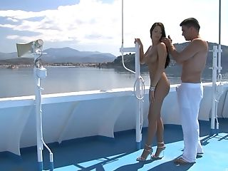 Xxx Rear End Style And A Jizz Shot On A Boat For Mummy Kortney Kane