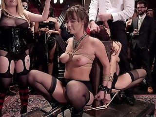 Servant Female Aiden Starr Wants To Be Disciplined By Her Friends