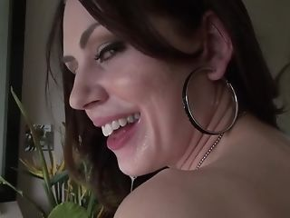 A Bitch That Loves To Suck Is Getting Jizz In Her Pretty Mouth