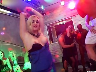 Wild Fucking During A Large Soiree With Killer Masculine Strippers