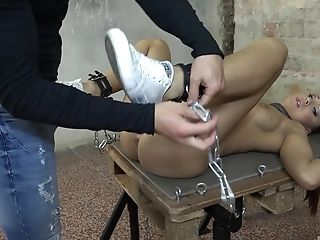 Chained And Butt-banged For A Accomplish Bondage & Discipline