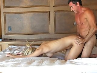 Buxomy Blonde Stunner Kenna Gets Her Labia Frigged And Fucked Rear End Style