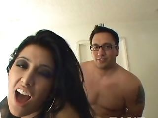 This Aggressively Horny Whore Fucks With Real Passion And She Is Totally Hot