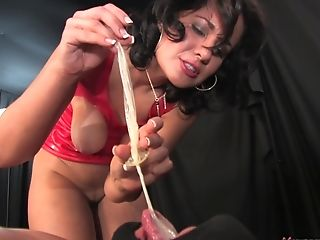 Mistress Haley In Lates Spanks And Pegs Her Tied Up Boy Toy Hard