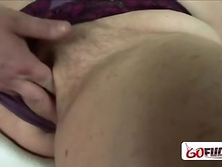 Steamy Granny Gets Her Coochie Banged Hard By Horny Studs Man-meat