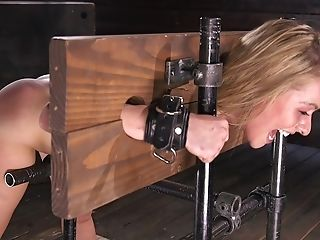 Subjugated Blonde Lilly Lit Luvs Her Tying Infatuation Manhandle Session