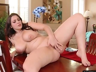 Chesty Porn Industry Star Hump With Cum Shot
