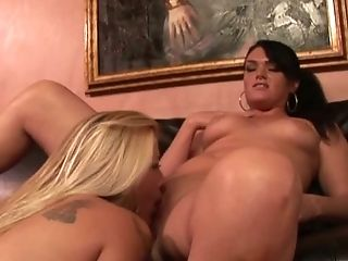 Brilliant Lesbo Joclyn Stone Plays With Big Boobies And Taunt Moist Cunt