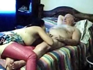 Old Man Fucks Mexican Whore