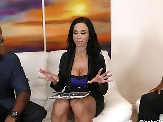 Stunning Real Estate Dealer Jewels Jade Desires To Work On Two Strong Bbcs