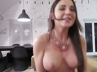 Whorish Belgian Beauty Julie Skyhigh Gives A Good Deep Throat And Gets Fucked In Hot Point Of View Scene