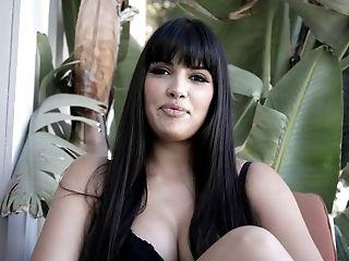 Ravishing Latina Starlet With Big Tatas Mercedes Deepthroats A Big Black Cock